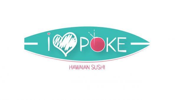 i love poke Logo